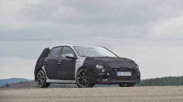 Hyundai i30 N prototype - front three quarter