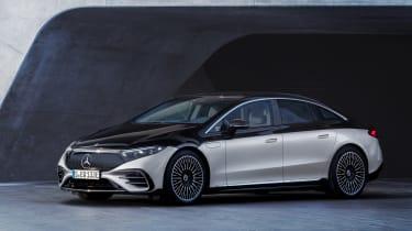 Mercedes-Benz EQS – quarter static