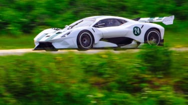Brabham BT62 side
