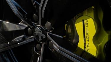 Peugeot 508 PSE review – brakes