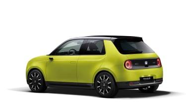 Honda e Prototype green