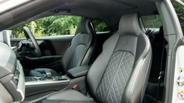 Audi S5 - interior