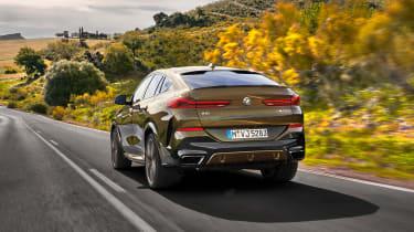 New BMW X6 rear rolling