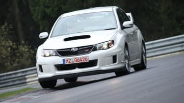 Subaru Impreza STI Nurburgring lap