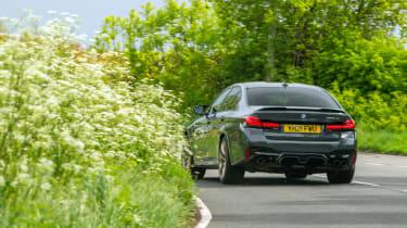 BMW M5 CS – rear cornering
