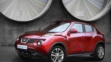 Nissan Juke front static