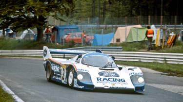 History of Nurburgring - Porsche