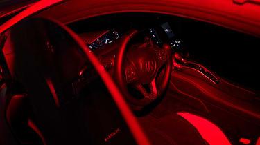 Acura NSX Type S – interior