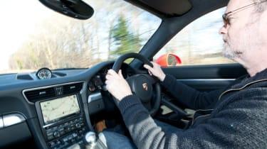 2012 Porsche 911 Carrera manual driving