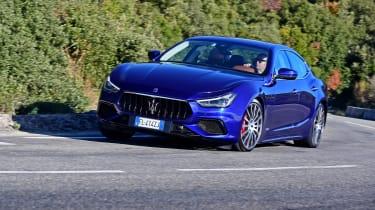 Maserati Ghibli S – front cornering