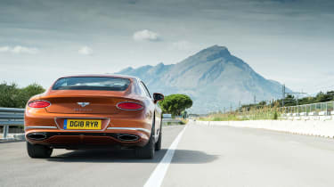 Bentley Continental GT review – rear