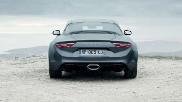 Alpine A110 Pure and Legende - rear
