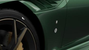 Aston Martin DBS 59 special edition - fenders