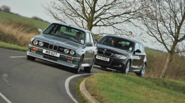 BMW M3 E30 and 123d