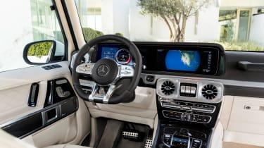 Mercedes-AMG G63 – cabin