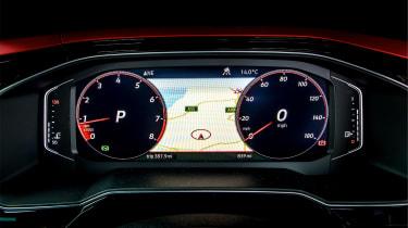 Volkswagen Polo 6 GTI - dials round