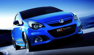 New Vauxhall Corsa VXR Blue Edition