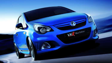 New Vauxhall Corsa VXR Blue Edition