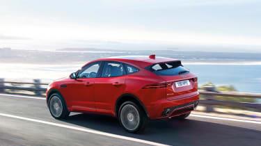 Jaguar E-Pace - driving rear 2