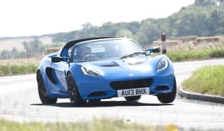 Lotus Elise S Club Racer bright blue
