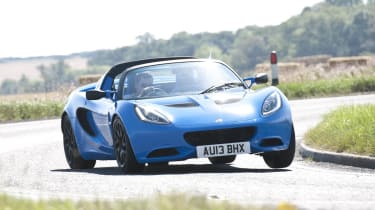 Lotus Elise S Club Racer bright blue