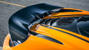 McLaren 720S track pack - rear wing