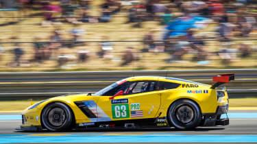Le Mans 2017 - Corvette profile