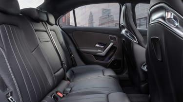 Mercedes-AMG A35 saloon - rear interior]