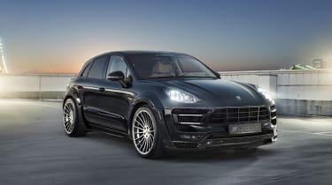 Hamann gives Porsche Macan S Diesel wide body, V8 sound | Evo