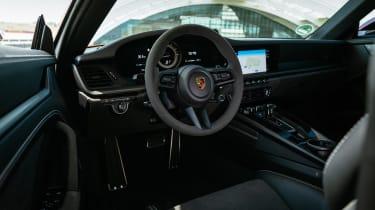 Porsche 911 GTS review (992) – interior