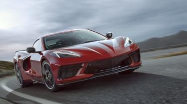 2020 Chevrolet Corvette C8 front dynamic