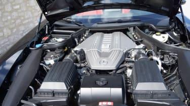Mercedes SLS AMG Roadster Senner tuned 6.2-litre V8 engine
