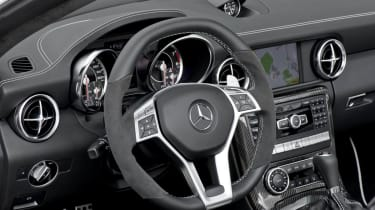 Mercedes-Benz SLK55 AMG dashboard