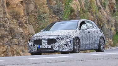 Mercedes-AMG A45 Spies - front 3
