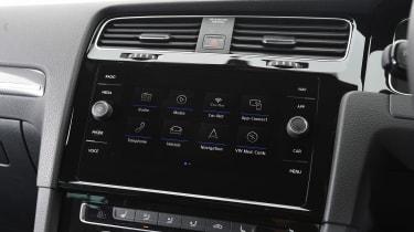 VW Golf - nav screen