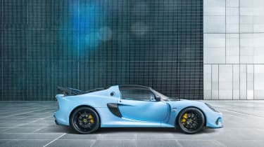Lotus Exige 410 Sport – side