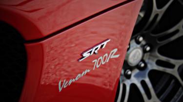 SRT Viper Hennessey Venom 700R side badge
