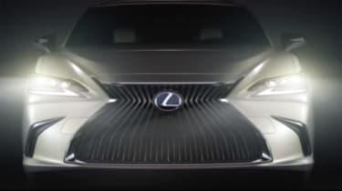 Lexus ES – front