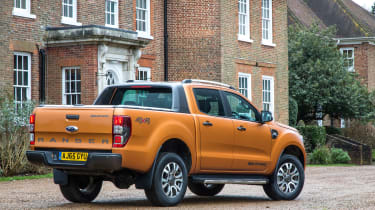 Ford Ranger WildTrak rear