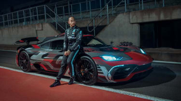 Mercedes-AMG Project One front Lewis Hamilton