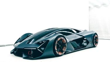 Lamborghini Terzo Millennio - front quarter