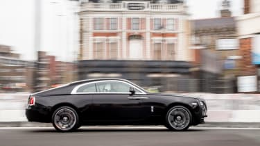Rolls-Royce Wraith Inspired by Music - side profile