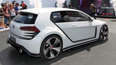 496bhp VW Golf Design Vision GTI white