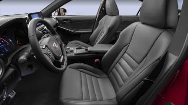 Lexus IS500 F Sport - seats