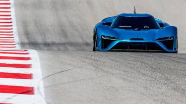 Nio EP9 record holder - front