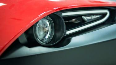 Zenos E10 headlight