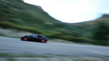 Bugatti Veyron Vitesse - profile