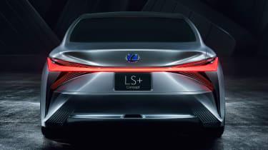 Lexus LS+ Concept – rear