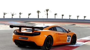 McLaren 12C GT Sprint edition rear spoiler