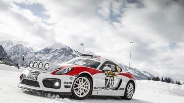 Porsche Cayman GT4 Rallye -